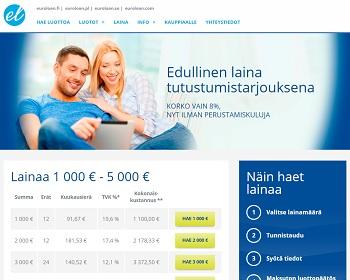 Euroloan.fi - Hae nopea pikavippi netistä.