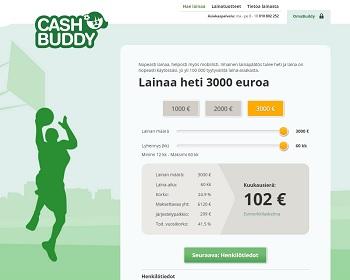 CashBuddy on edullisempi kuin perinteinen pikavippi!
