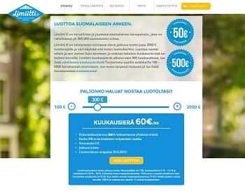 Limiitti.fi - Ilmainen 500 euron pikavippi!