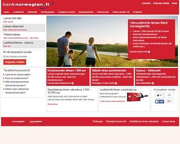 Bank Norwegian - Uusi lainapalvelu!