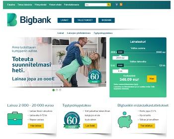 Bigbank lainassa ainutlaatuinen tyytyväisyystakuu.