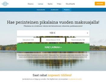 Lainasto.fi - Pikavippi jopa vuoden maksuajalla!