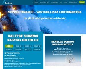 Surimo.fi on edullisempi kuin perinteinen pikavippi!