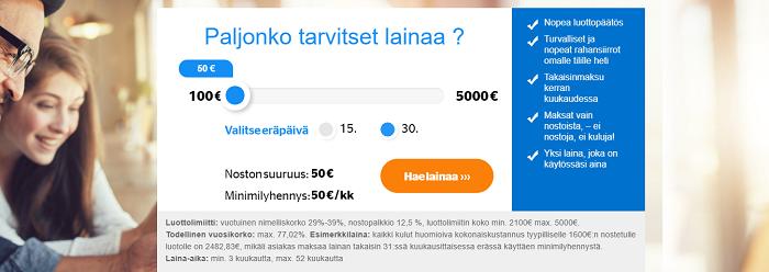 Laina.fi tarjoaa monipuolista lainaa!