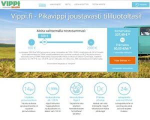 Vippi.fi - Edullinen pikavippi 500 - 2000 euroa.