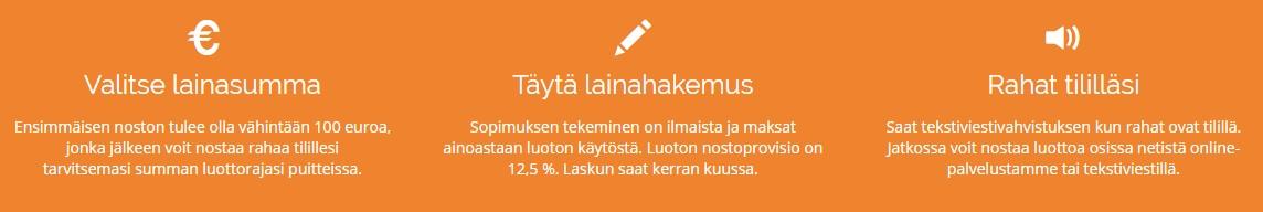 NetistäLainaa.fi lainaa ilman vakuuksia tai takaajia selkeällä lainahakemuksella 24H.