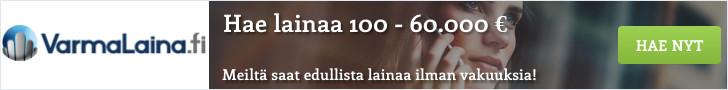 Hae varma laina VarmaLaina.fi palvelusta!