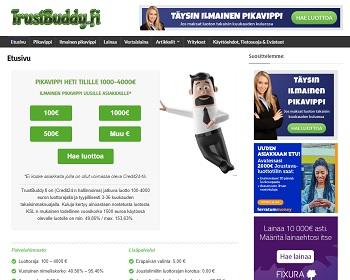TrustBuddy.fi lainaa tästä
